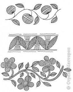 Узоры и символы в Менди Индия  фото 19