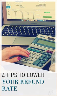 4 tips to lower your refund rate // Julie Stoian -- Business Tips, Online Business, Business Sales, Business Coaching, Make Money Blogging, How To Make Money, Entrepreneur Inspiration, Inevitable, Money Management