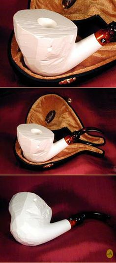 Carve Your Own  meerschaum Pipe