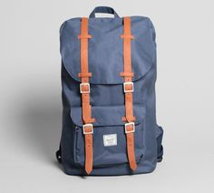 The Little America, by Herschel Supply. - SUCH an amazing bag pack.