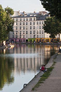 Canal St-Martin,Paris