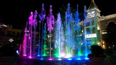 Farmington Station Park Utah Water Show