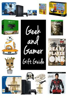 Gamer geek gifts for christmas