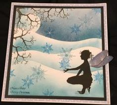 lavinia stamps Novembers challenge ''let it snow''