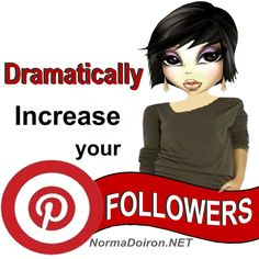 Dramatically Increase Pinterest Followers