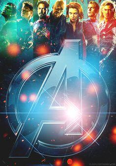 The Hulk, Hawkeye, Iron Man, Nick Fury, Black Widow, Captain America, and Thor