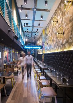 Bluetrain Restaurant – Melbourne, Australia by Studio Equator