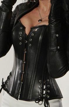 SALE 5X 6X Plus Size Italian Napa Leather by DeadlyCurvesCorsets, $89.99
