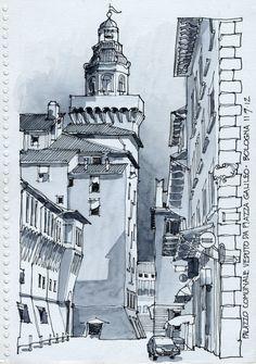"""Florencia 26.9.12, detalle de un"""" palazzo"""" que vi al pasar, """"moderno"""" para esa ciudad, donde las cosas se miden en siglos en vez de años...."""