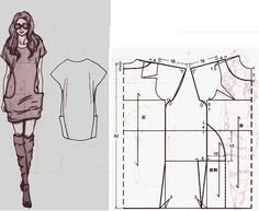 Amazing Sewing Patterns Clone Your Clothes Ideas. Enchanting Sewing Patterns Clone Your Clothes Ideas. Sewing Dress, Diy Dress, Sewing Clothes, Sewing Hacks, Sewing Tutorials, Sewing Crafts, Sewing Projects, Sewing Patterns Free, Free Sewing