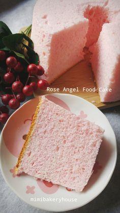 MiMi Bakery House: Rose Angel Food Cake [07 Mar 2016]