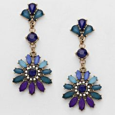 Lola's Floral Drop Earrings