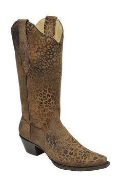 Corral Bone Embroidery Cowgirl Boots | Popular Cowgirl boots and
