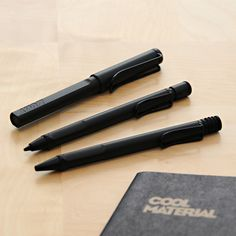 Lamy's Safari Charcoal Collectoin - go-to writing utensils for everyday duty