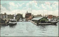 Yonge Street Dock, Toronto, 1910...