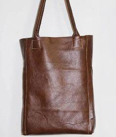 Luxurious Leather Tote Bag Tutorial | AllFreeSewing.com