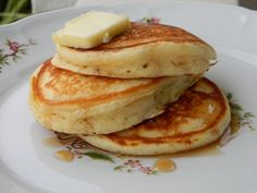 I am not sure why we, yes I include myself, ever started using pancake mix. Pancakes from scratch are easy - certainly not any harder than measuring just a couple of ingredients and mixing - isn't ...