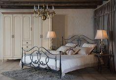 металлическая кровать в интерьере спальни: 26 тыс изображений найдено в Яндекс.Картинках