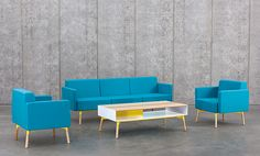 Products - Tombolo Sofa Series :: Designed by San Francisco Design Studio, Most Modest, for HighTower Group