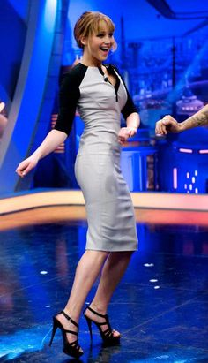 Jennifer Lawrence- loooove the dress