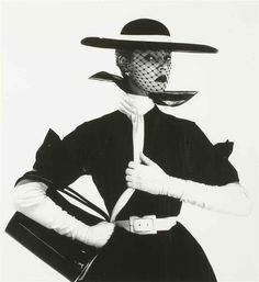 Jean Patchett by Irving Penn for UK Vogue, April 1950