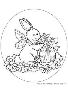 pergamano - Page 19 Zoo Coloring Pages, Easter Coloring Sheets, Easter Bunny Colouring, Coloring Pages For Grown Ups, Printable Adult Coloring Pages, Christmas Coloring Pages, Coloring Books, Kids Coloring, Fairy Crafts