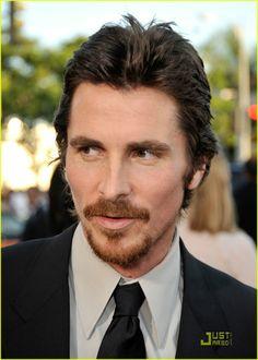 Christian Bale- even with facial hair