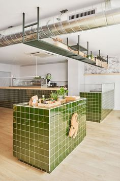 Scala Studio has designed a healthy, fast food restaurant in Barcelona, capturing the essence of fresh, natural and premium produce served by the venue.