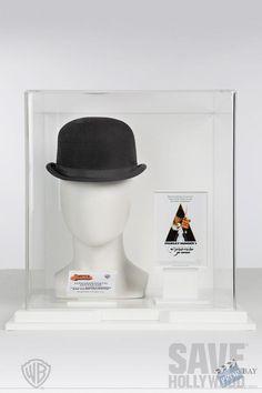Alex's Clockwork Orange Bowler Hat Wardrobe from A Clockwork Orange ...