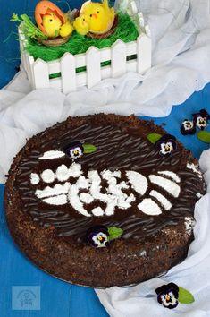 Pasca cu ciocolata, fara aluat - CAIETUL CU RETETE Nutella, Caramel, Cheesecake, Paste, Ice Cream, Keto, Sweets, Desserts, Workshop