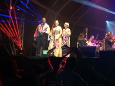 Amazing night at the proms with @dankoek @char_jaconelli and @EmilyHSoprano crowd said it was the best proms ever!