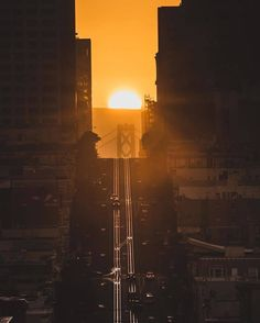 California Street, San Francisco by Chris Henderson