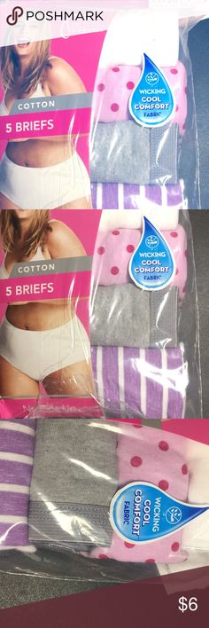 "Just My Size Cotton TAGLESS Brief Panties — 4-Pack Just My Size Cotton TAGLESS Brief Panties — 4-Pack New in box as pictured. Some packs have been repackaged. Product is perfect, packaging will show signs of wear.""  Sizing: Women, Plus Material: 100.0% Cotton Rise: Mid Rise Sheerness: Opaque Care and Cleaning: Machine wash & Tumble dry Just My Size Intimates & Sleepwear Panties"