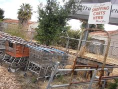 Even shopping carts need a home, don't they?