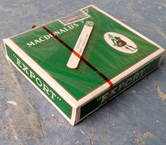 Vintage Unopened Macdonald's Gold Standard Cigarette pack by vavoombisbee on Etsy