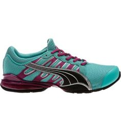 Voltaic III Women's Running Shoes, pool blue-black-puma silver