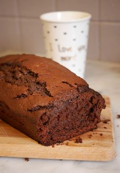 Healthy Desserts, Delicious Desserts, Healthy Recipes, Cas, Cake Chocolat, Flourless Chocolate Cakes, Healthy Banana Bread, Food Decoration, Something Sweet