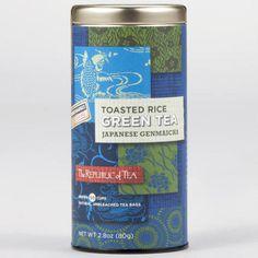 Tea for health: The Republic of Tea Japanese Gen Mai Cha, 50-Count Tin