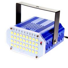 36 led yüksek güç Beyaz RGB LED Sahne Işık DJ Strobe flaş Işığı Kulübü Parti festivali 110 V 220 V AB/ABD Plug Ücretsiz Kargo