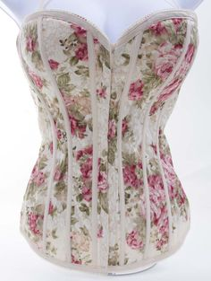 Floral Lace Sexy Sweetheart Neckline Fashion Corset
