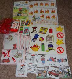 Fire Safety – Book, Math & Literacy Bag Centers
