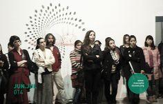 Imagen: Vista de Inauguración / Vernissage | Exposición: Taller C muestra | Período: Junio y Julio de 2014. | Lugar: macsa – Museo de Arte Contemporáneo de Salta | Salta, Argentina.