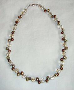 Crystal'n Pearls on Etsy, $40.00