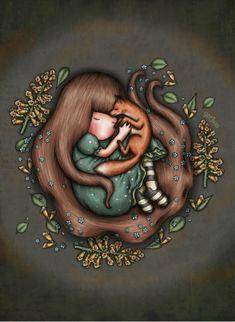 Winter Illustration, Cute Illustration, Cute Girls, Little Girls, Santoro London, Kawaii, Tatty Teddy, Food Drawing, Sugar Art