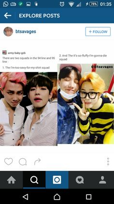Taehyung and Jimin are interchangeable