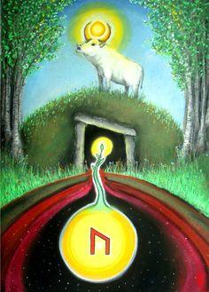 uruz rune I am