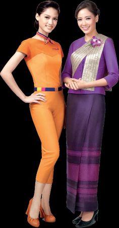 Thai & Thai Smile Airways Stewardesses