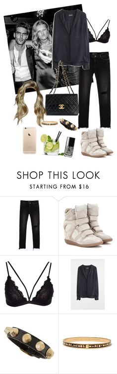 """Untitled #1823"" by pernillacatharina ❤ liked on Polyvore featuring Zara, Isabel Marant, Zadig & Voltaire, Balenciaga, Marc by Marc Jacobs and Chanel"