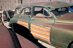 """Whenever the term """"Woodie"""" gets dropped into a conversation our minds often think of Fords, Mercurys, and other makes and models. Most likely at the end of that list is this uncommon Packard Station Sedan. Built... more»"""