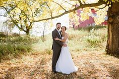 Fall Wedding - Minnesota Barn Wedding - Gale Woods Farm- debruynphotography.com